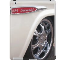 Chevrolet Classic 3124 Pick Up Truck in White iPad Case/Skin