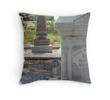 The Sullivans: May The Rest in Elaborate Peace Throw Pillow