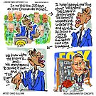 Commander In Chief Vs Glenn Beck by Londons Times Cartoons by Rick  London