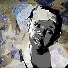 Haiti girl by Cecilie Hole