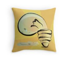 A Sad Light Throw Pillow