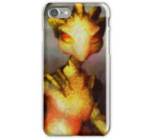 Lady White Snake by Sarah Kirk iPhone Case/Skin