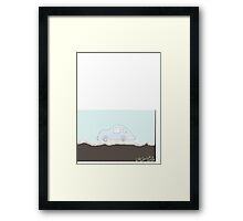 Bubble Car in Bubble Land Framed Print