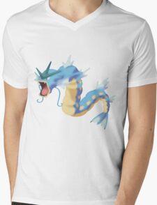 Watercolour Gyarados Mens V-Neck T-Shirt