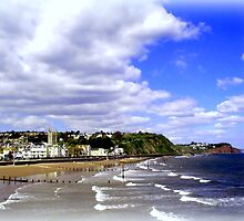 Teignmouth Bay by Charmiene Maxwell-Batten