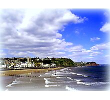 Teignmouth Bay Photographic Print