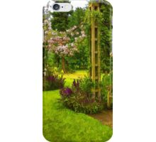 Impressions of London - Queen Mary's Rose Garden iPhone Case/Skin