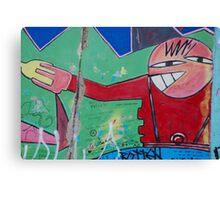 Art on the Berlin Wall Canvas Print