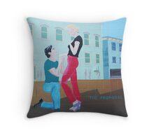 The Proposal Throw Pillow