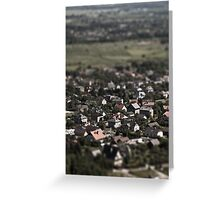 Little cities 05 Greeting Card