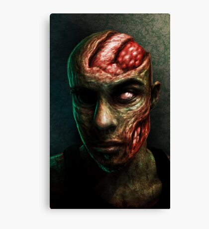 BRAINS!!!! Canvas Print