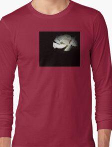 Night Gardening - Tiny White Long Sleeve T-Shirt