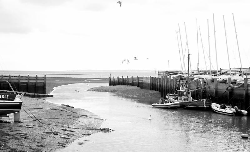 harbour scene by purpleminx