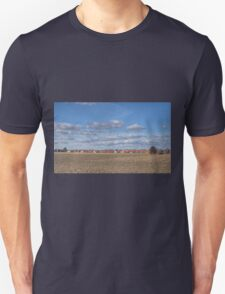 Lines of Clouds - HDR Unisex T-Shirt
