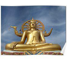 Big Buddha at Koh Samui Poster