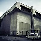 a substation and a trabant by BrainCandy