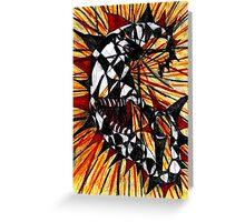 lunatic lunacy Greeting Card