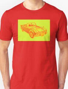 Triumph Tr4  Sports Car Pop art Design T-Shirt