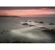 rocky sunset-Crosshaven Ireland Photographic Print