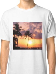 Relaxation and Vacation in a Caribbean Paradise Classic T-Shirt