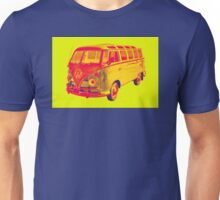 Classic VW 21 window Mini Bus Pop Art Unisex T-Shirt