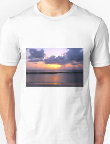 Pink and Purple Seven Mile Sunset in the Caribbean T-Shirt
