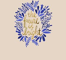 The Future is Bright – Navy & Gold Unisex T-Shirt