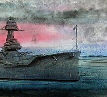 Battleship Texas by ladyAM