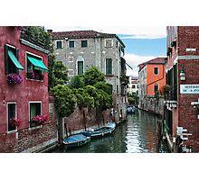 Venetian Waterways Photographic Print