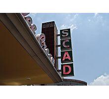 SCAD Movie Theatre Photographic Print