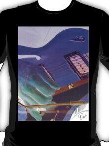 Blue Guitar By Gus T-Shirt