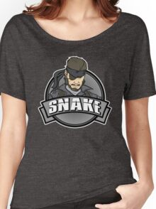 Solid Snake Women's Relaxed Fit T-Shirt