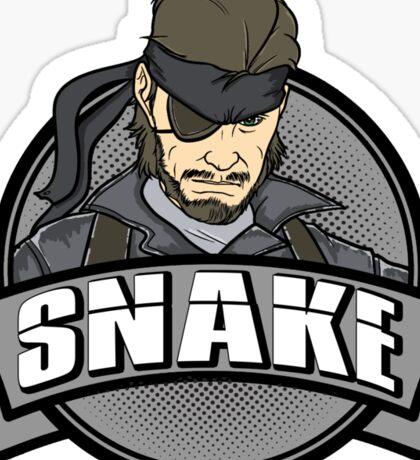 Solid Snake Sticker