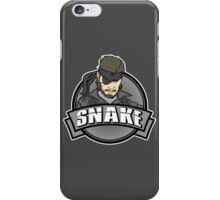 Solid Snake iPhone Case/Skin