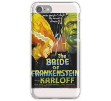 Karloff as Frankenstein iPhone Case/Skin
