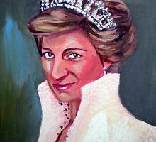 Princess Diana by Paintvalentine