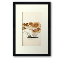 Coloured figures of English fungi or mushrooms James Sowerby 1809 0231 Framed Print