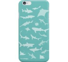Sharks and Rays! iPhone Case/Skin