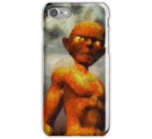A Gollum by Sarah Kirk iPhone Case/Skin