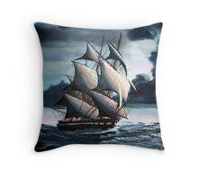 The USS Constitution Throw Pillow