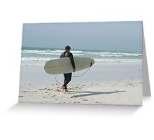 Surfer ! Greeting Card
