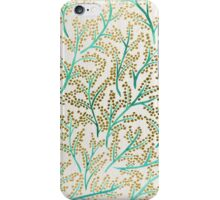 Green & Gold Branches iPhone Case/Skin