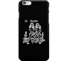 GEMINI, Signs of the Zodiac, The Twins, Horoscope, Birth sign, Birth Star iPhone Case/Skin