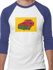 1962  Porsche 356 E Pop Art Men's Baseball ¾ T-Shirt