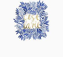 That's Life – Gold & Blue Unisex T-Shirt