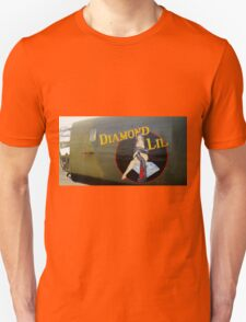 Diamond Lil - Bomber Aircraft Art Unisex T-Shirt