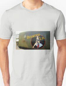 Diamond Lil - Bomber Aircraft Art T-Shirt