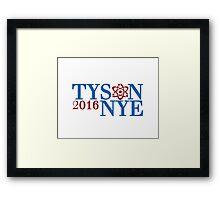 Tyson Nye 2016 Framed Print