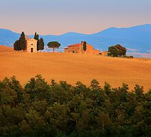 Val d'Orcia Serenity by Inge Johnsson