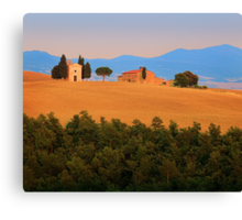 Val d'Orcia Serenity Canvas Print